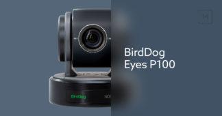 BirdDog Eyes P100 1080P NDI PTZ kamera med SDI