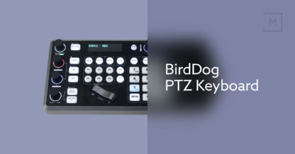 BirdDog PTZ Keyboard kontroller