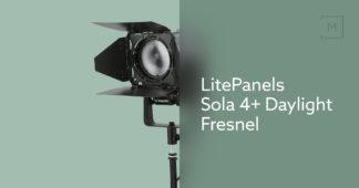 LitePanels Sola 4+ Daylight Fresnel
