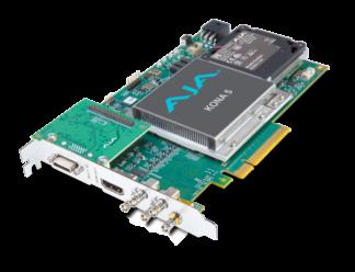 AJA KONA-5 12G-SDI I/O 10-Bit PCIE Card