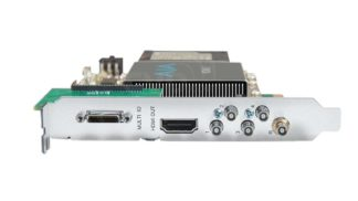 AJA 12G-SDI I/O 10-Bit PCIE Card