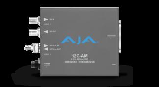 AJA 12G-AM-T-ST 8-Channel 12G-SDI AES audio Embedder/Disembedder