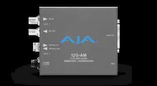 AJA 12G-AM-TR 8-Channel 12G-SDI AES audio Embedder/Disembedder