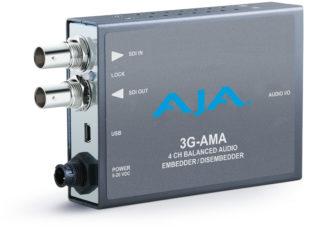 AJA 3G-AMA 3G-SDI Analog Audio Embed/Disembed