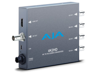 AJA 4K2HD 4K/UltraHD to HD-SDI and HDMI Down-Converter