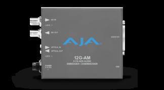 AJA 12G-AM 8-Channel 12G-SDI AES audio Embedder/Disembedder