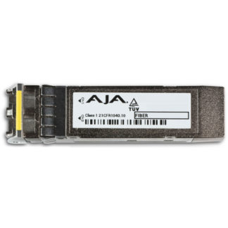 AJA 12G/6G-SDI Dual Fiber Single-Mode LC Transmitter