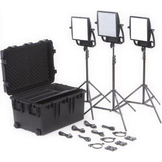 LitePanels Astra Soft + Astra 6X Traveler Trio VMount Kit