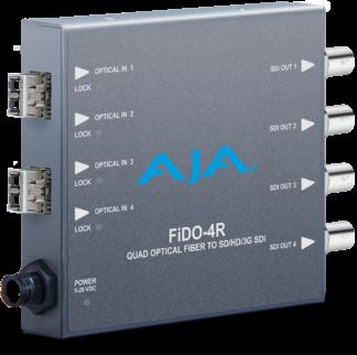 AJA FiDO-4R-MM fiber Receiver