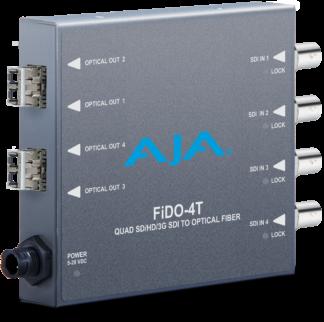 AJA FiDO-4T-MM Fiber Transmitter