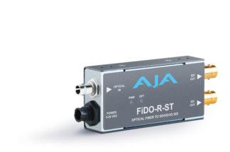 AJA FiDO-R-ST 1-Channel Single-Mode ST Fiber to 3G-SDI Receiver