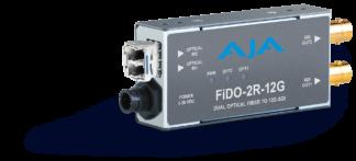 AJA FiDO-2R-12G fiber receiver
