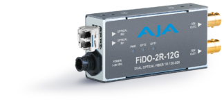 AJA FiDO-TR-12G Fiber Transceiver