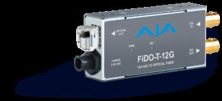 AJA FiDO-T-12G fiber transmitter