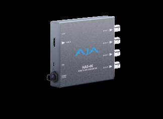 AJA 4K HDMI to 4K 4x 3G-SDI Mini converter