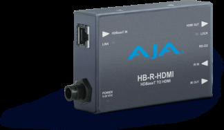 AJA HDBaseT to HDMI Mini-Converter