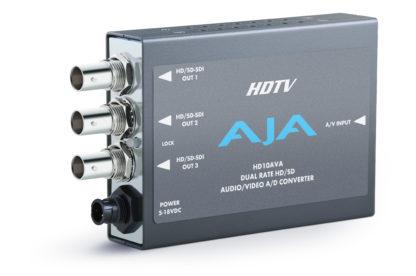 AJA HD10AVA HD/SD Audio/Video, Analog/Digital Mini-Converter