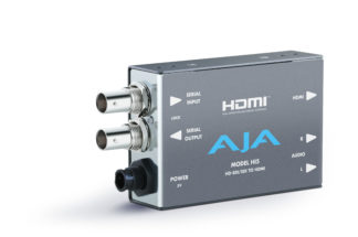 AJA HI5 HD/SD SDI til HDMI med 1m HDMI kabel