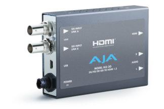 AJA HI5-3G 3G-SDI til HDMI konverter med kabel