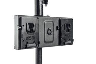 Litepanels Gemini Dual Battery Bracket - Gold Mount