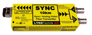 Lynx OTX 1712-2 MM Analog Sync / Video Fiber Optic Transmitter