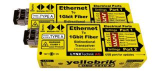 Lynx OBD 1510 E Ethernet to Fiber Bidirectional Transceivers (switch)