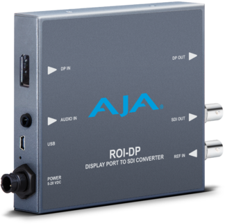 AJA ROI-DP DisplayPort to SDI with ROI scaling