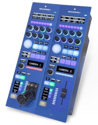 SKAARHOJ RCPv2 Remote Control Panel med Iris Joystick & SDI I/O