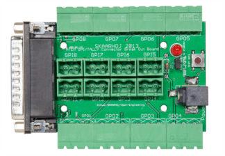 Skaarhoj ATEM GPI & Tally Interface Breakout Board