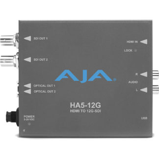 AJA HA5-12G HDMI 2.0 til 12G-SDI konverter