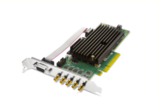 AJA CRV44-T-NCF Standard Height PCIe Bracket and Passive Heat Sink