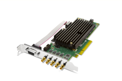 AJA CRV44-T-NCF Standard Height PCIe Bracket and Passive Heat Sink