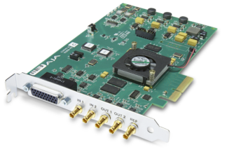 AJA Corvid 22 4-Lane Pcie Card - 2-In/2-Out HD/SD/3G SDI