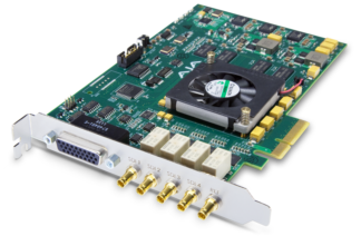 AJA Corvid 24 2nd Gen PCIe 4-Channel I/O