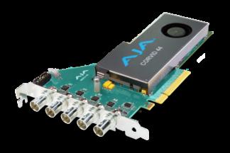 AJA Corvid 44 Flexible Multi-Format I/O with Full-Size BNC