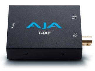 AJA T-TAP Thunderbolt powered SDI and HDMI output