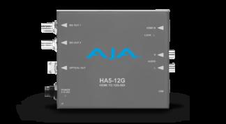 AJA HDMI 2.0 to 12G-SDI Converter