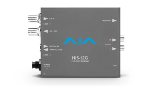 AJA HI5-12G 12G-SDI til HDMI 2.0 konverter