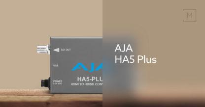 AJA HA5-Plus HDMI til 3G-SDI Mini Konverter