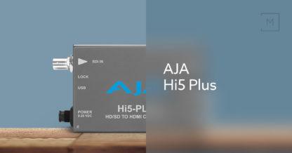 AJA Hi5-Plus 3G-SDI til HDMI Mini Konverter