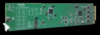 AJA OG-3G-AMD openGear 3G-SDI 8-Channel 24-bit AES Embedder/Disembedder