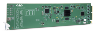 AJA openGear 4K/UltraHD-SDI to 3G-SDI Down-Converter
