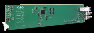 AJA OG Fido 2R OpenGear 2-Channel Single Mode LC Fiber To 3G-SDI Receiver