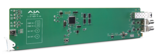 AJA OG-FIDO-2R-MM OpenGear 2-Channel Multi-Mode LC Fiber to 3G-SDI Receiver