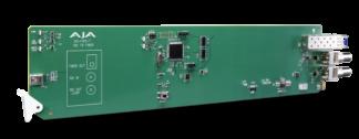AJA OG-FIDO-T openGear 1-Channel 3G-SDI to Single Mode LC Fiber Transmitter