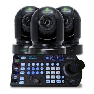 BirdDog Eyes P200 PTZ Kamerapakke med gratis PTZ keyboard