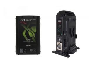 IDX V-Mount Batteri Kit med 1x CUE-H135 og VL-2X lader