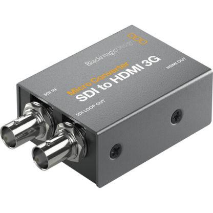 Blackmagic Mikro konverter SDI til HDMI 3G med strømforsyning