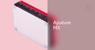 Aputure Amaran AL-MX Bicolor LED mini lys