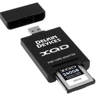 Delkin Devices USB 3.1 Premium XQD 2.0 Adapter